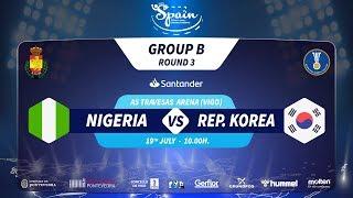 #Handtastic | PR - Group B | Nigeria : Rep. Korea