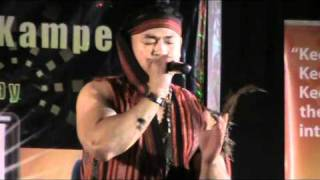 Cenen Tenorio sings Dakilang Lahi by Anthony Castillo