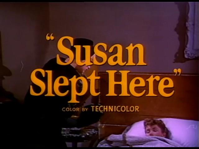 Susan Slept Here (1954) Trailer