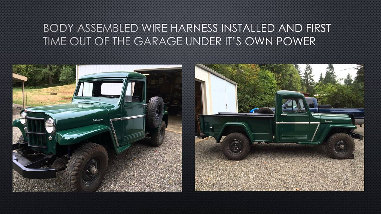 Willys Pickup Wiring Harness Diy Enthusiasts Diagrams Online Schematic Diagram U2022 Rh Epicstore Co 1940 Jeep