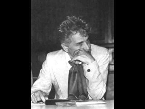 Jacques Derrida (1930-2004)  -  On God And Suffering, Deconstruction And Necessity, (...)