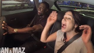 Kevin Hart Helps Dan Learn To Drive