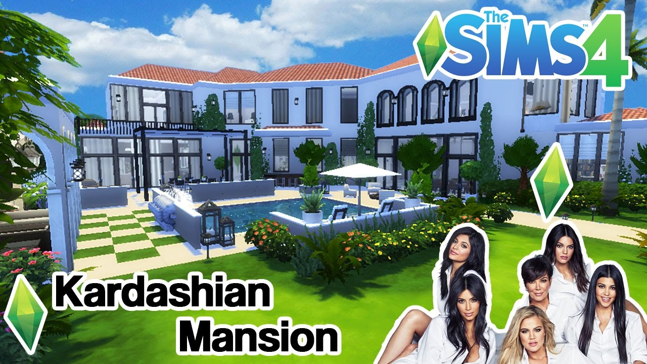 Mod The Sims - Celebrity Mansion (No CC)
