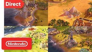 Sid Meier's Civilization VI - Nintendo Switch   Nintendo Direct 9.13.2018