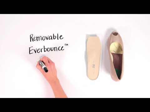 Video for Scarlett Peep Toe Wedge this will open in a new window