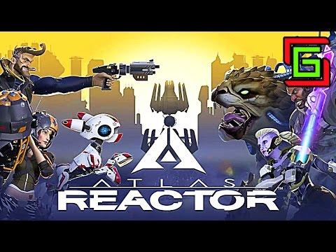видео: atlas reactor ☺ ОБУЧЕНИЕ НА РУССКОМ