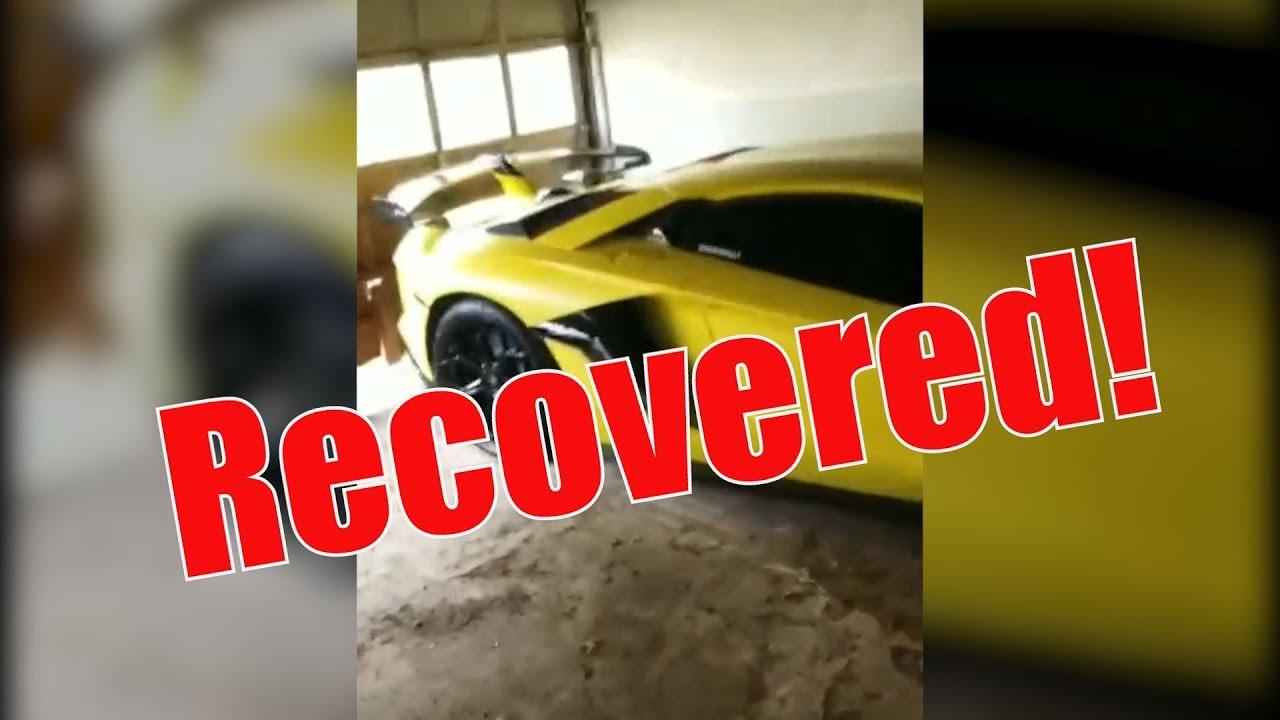 STOLEN Lamborghini SVJ UPDATE