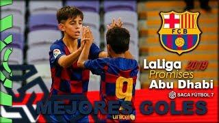 Los MEJORES Goles - FC Barcelona LaLiga Promises Abu Dhabi