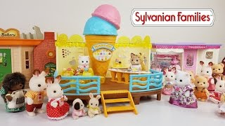 Seaside Ice Cream Shop Sylvanian Families & Calico Critters Review