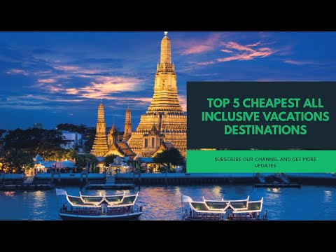 Top 5 Cheapest All Inclusive Vacations Destinations | MinePictures