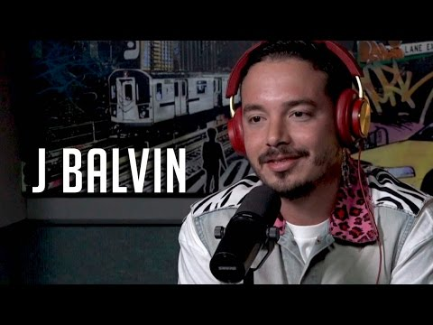 J Balvin talks Working w/ Pharrell & Bieber + Sings w/ Rosenberg!