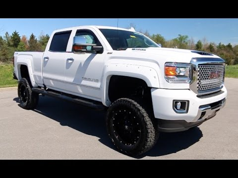 2017 gmc sierra 2500 crew cab 4x4 denali duramax z92 6 lift by alc at wilson county gmc youtube. Black Bedroom Furniture Sets. Home Design Ideas