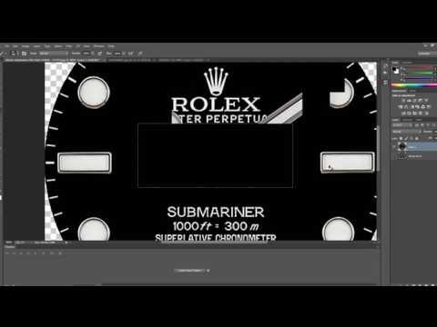 Rolex Submariner on Samsung Gear S3 with custom hands