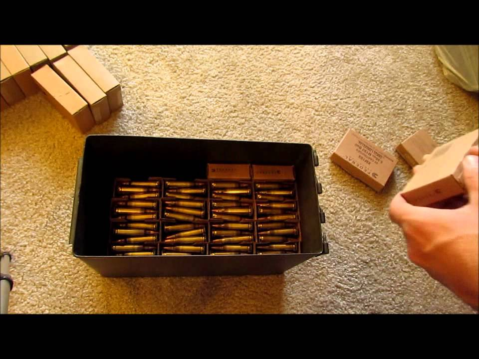 50 cal Ammo Can: How Many Rounds? Take 2