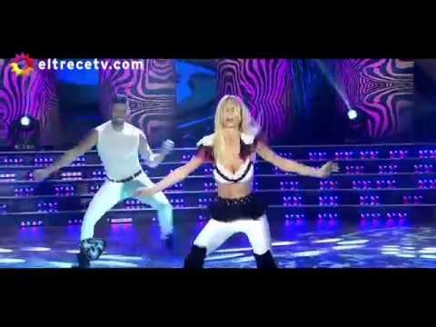 Desopilante visita de Luciano Castro a Sabrina Rojas que por celos echó a las bailarinas