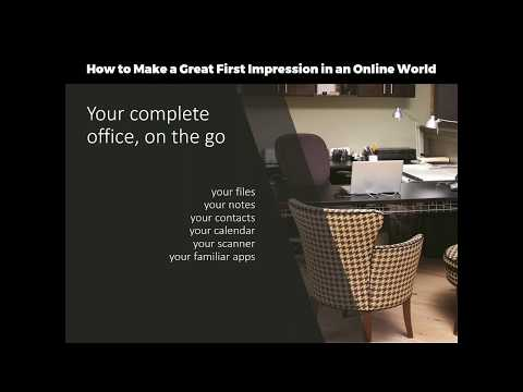 How to Make a Great First Impression in an Online World with Microsoft Office 365