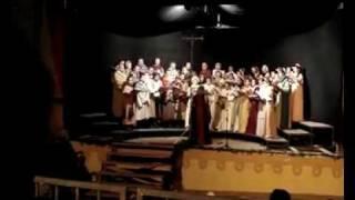 """""""Les cris de Paris"""" by Clèment Janequin, Coro Parte de Sotto Assisi"""