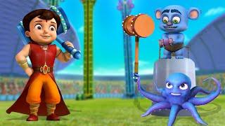 Super Bheem VS Octopus - Kaun Hai Shaktishali? | कौन है शक्तिशाली? | Cartoon for Kids in Hindi