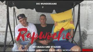 17.06.  Die wundersame Rapwoche mit Mauli und Staiger | Zu Gast: MC Bogy