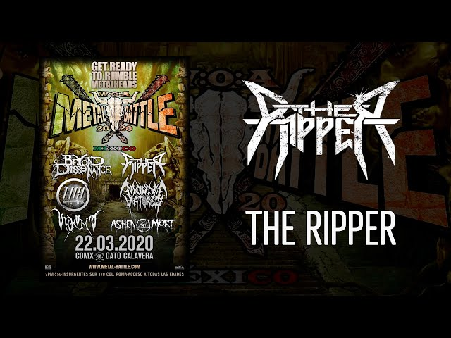 The Ripper en W:O:A Metal Battle México 2020