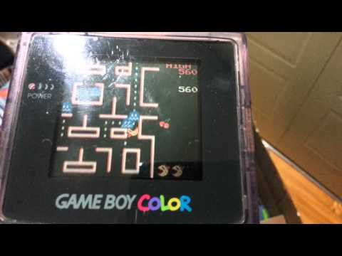 Ms. Pac-Man For Game Boy Color