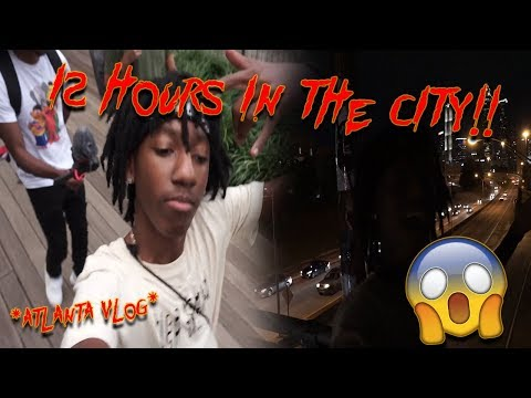12 HOURS IN ATLANTA?!!?!?!!| Vlog #2
