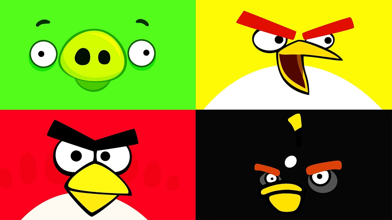 Download EPIC Angry Birds videos - surprise eggs, toys and many Disney folks by supercool4kids