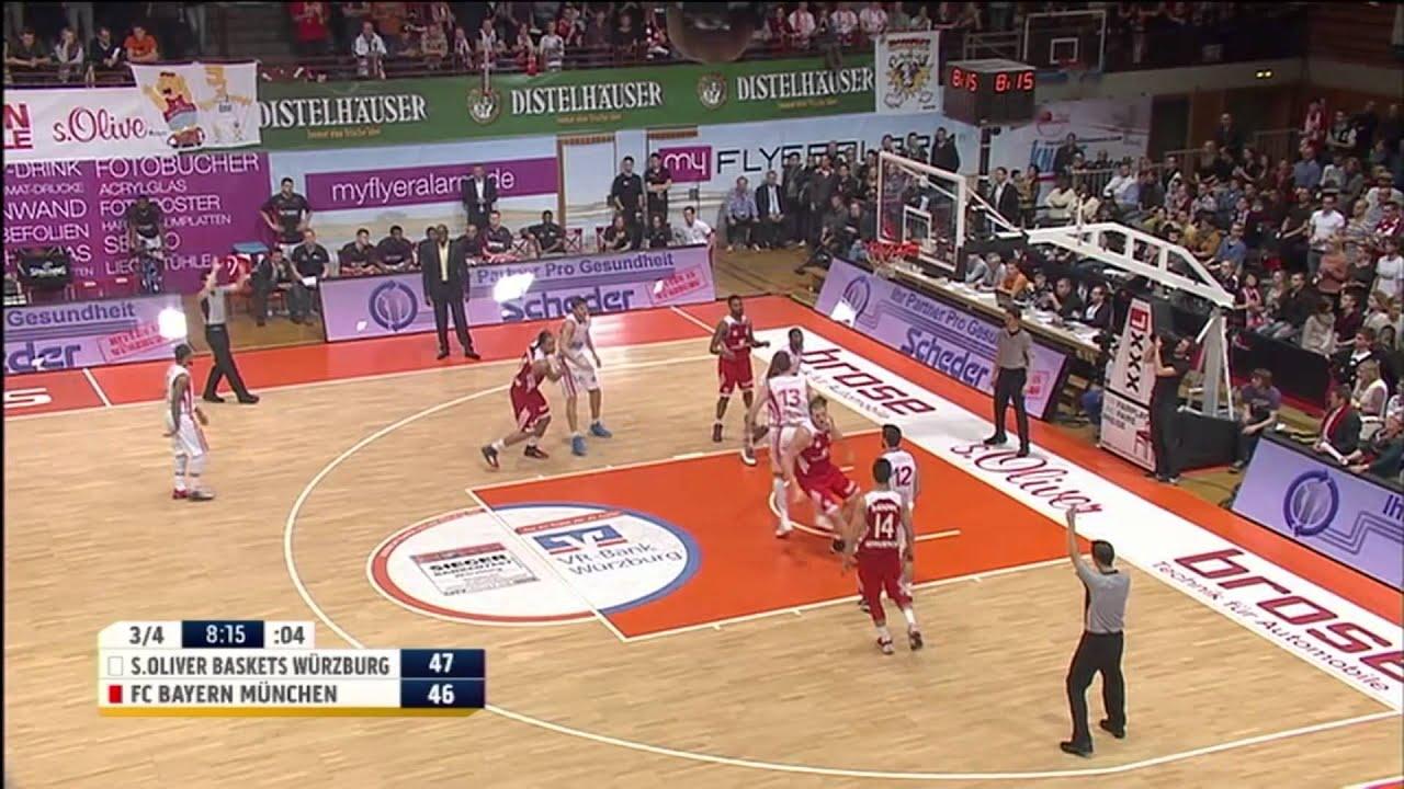 10 Spieltag Soliver Baskets Würzburg Vs Fc Bayern Basketball 86