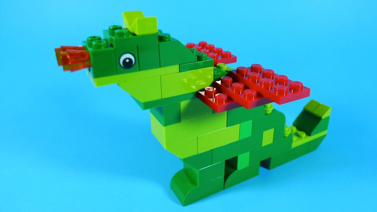 How To Build Lego DRAGON - 4630 LEGO® Build & Play Box Building ...