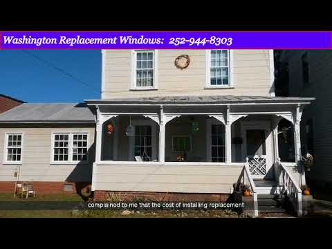 Replacement Windows Williamston NC | New Windows Contractor Williamston NC