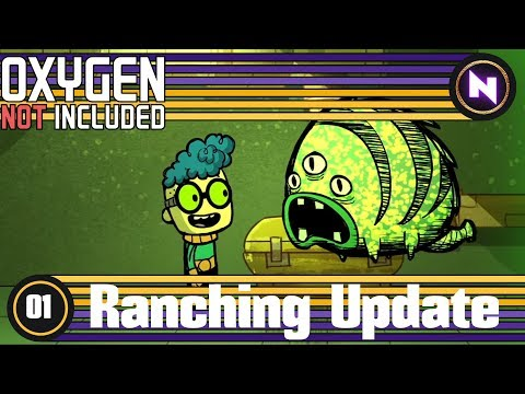 Oxygen Not Included #1 NEW COLONY  - Ranching Update