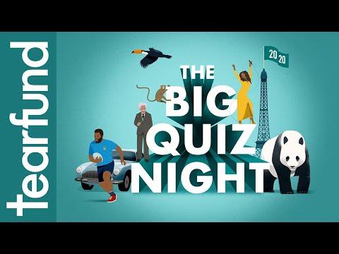 Tearfund's Big Quiz Night 2020
