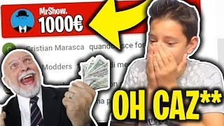 MI DONA 1000€ in LIVE e IO IMPAZZISCO! INCREDIBILE! 🔴 Live Fortnite Best Moments