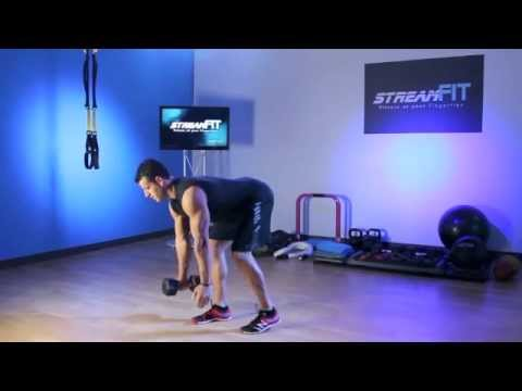 hinge on hand dumbbell hand to hand staggered hip hinge exercise youtube