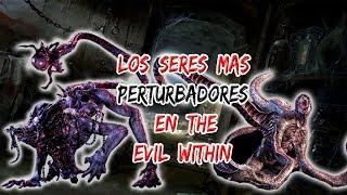 TOP 6-Las criaturas mas ATERRADORAS de The Evil Within