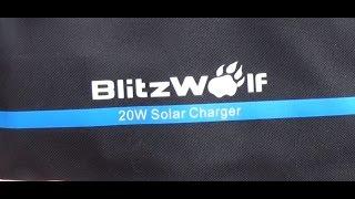 *EXTRA* Solar charger z Blitzwolf