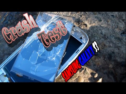 Crash Test Samsung Galaxy s3ORIGINAL
