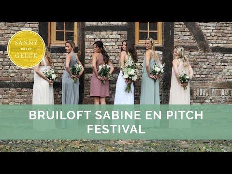 Weekvlog: Bruiloft. Paarden U0026 Pitch Festival   Sanny Zoekt Geluk