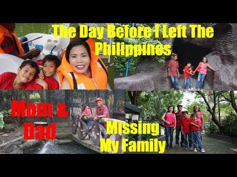 Philippines Vlog The Day Before I Left The Philippines+Family Bonding Pasig Rainforest Park
