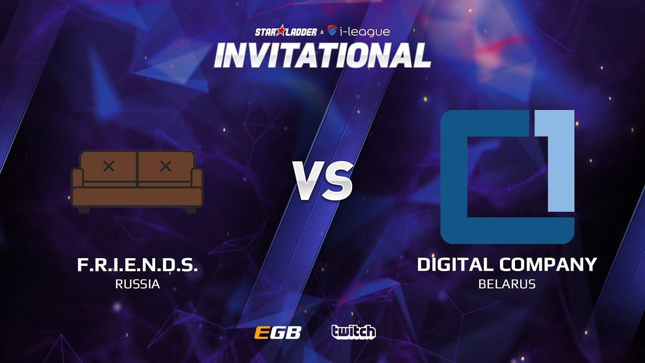 F.R.I.E.N.D.S. vs Digital Company, Game 2, SL i-League Invitational S2, EU Qualifier