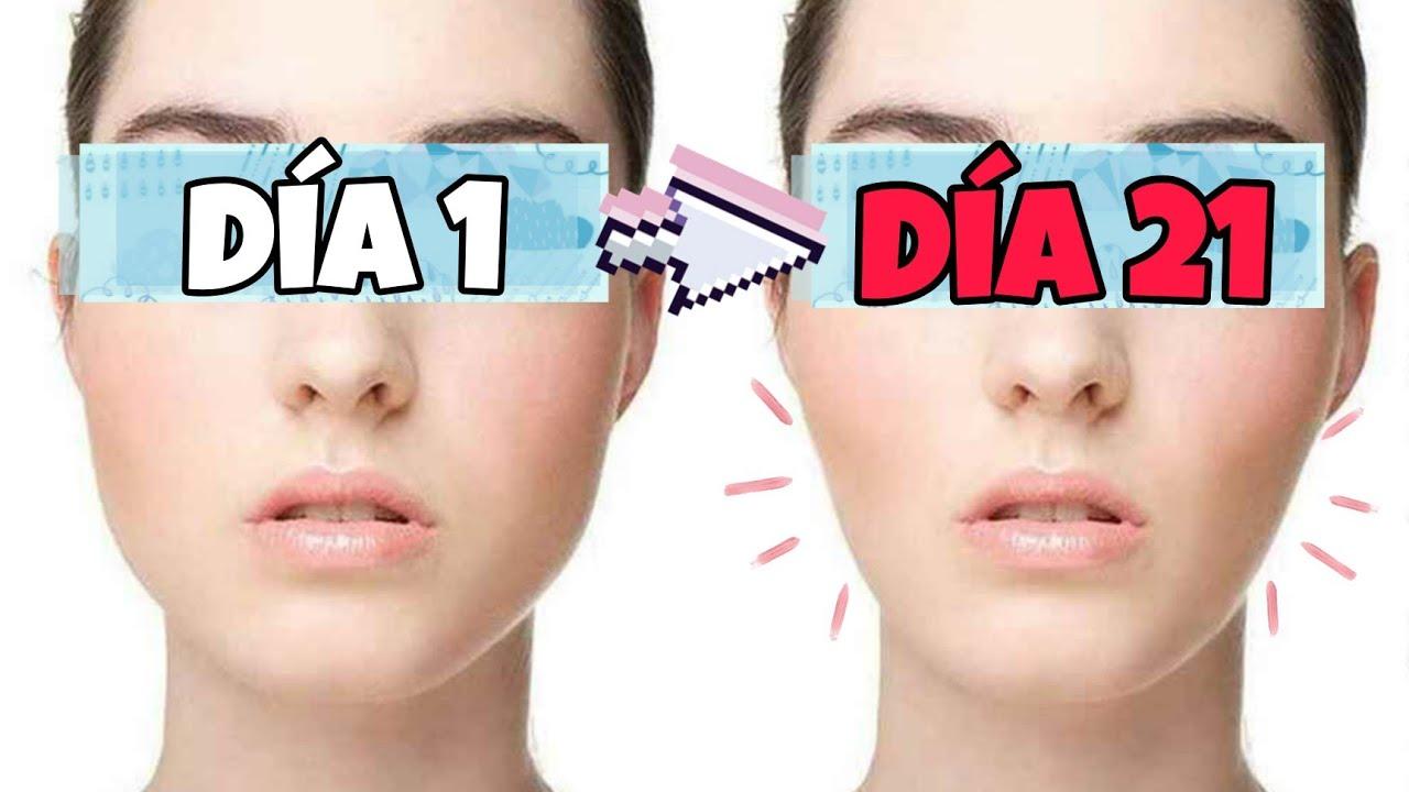 Elimina CACHETES, Grasa Facial y Adelgaza tu Cara 🥵(La VERDAD)