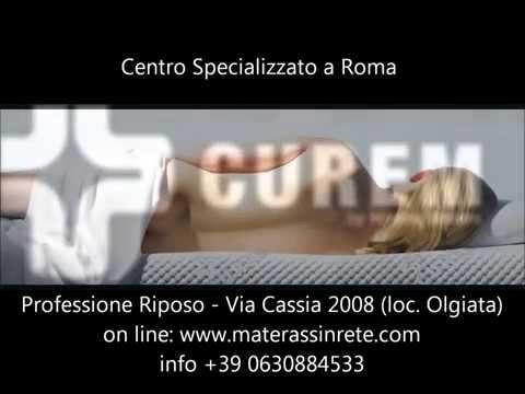 Materassi In Memory Foam Roma.Materassi Memory Curem A Roma Youtube