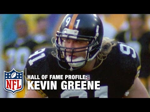 Kevin Greene (Rams/Steelers/Panthers, LB) Career Feature | 2016 Pro Football Hall of Fame | NFL