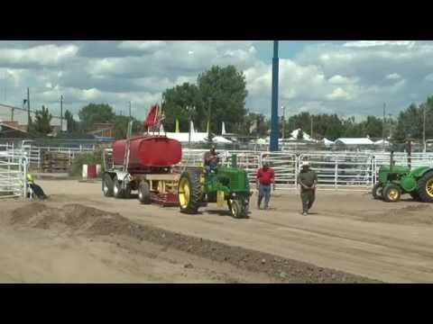 2015 Wyoming State Fair  Antique Tractor Pull