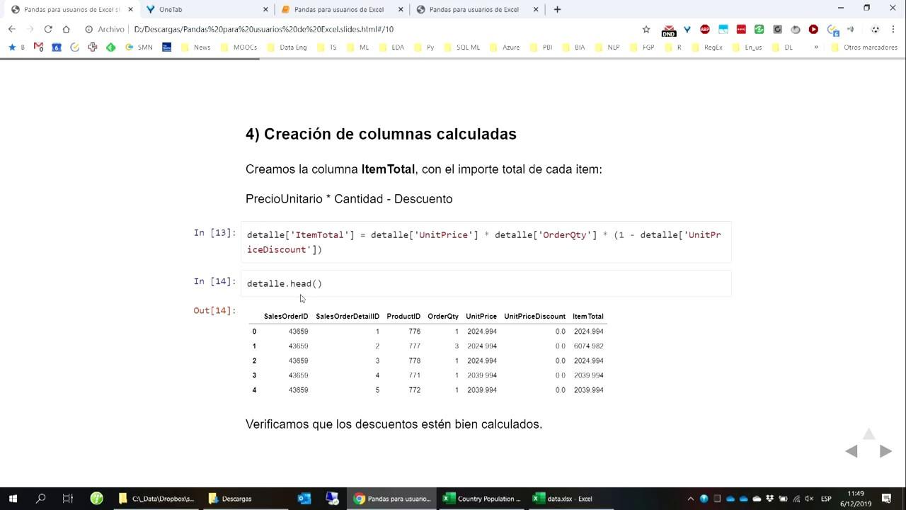 Image from Introducción a Python y Pandas para usuarios de Excel, por Fernando González Prada