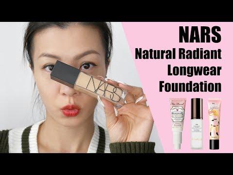 Nars Natural Radiant Longwear Foundation 粉底測試兩天   HIDDIE T