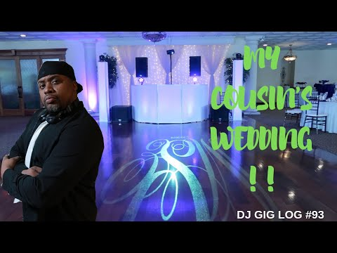 DJ GIG LOG #93 | MY COUSIN'S WEDDING | MOBILE DJ WEDDING | TRAVEL GIG LOG