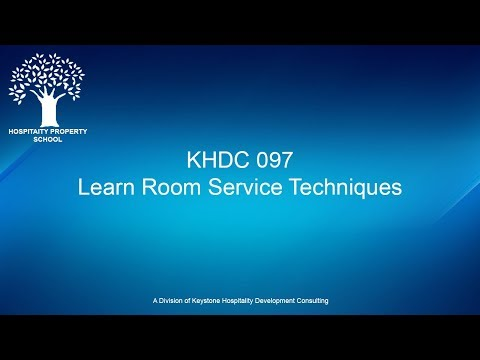 Learn Room Service Techniques | Ep. #097
