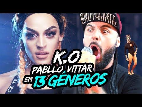 PABLLO VITTAR EM 13 GENEROS MUSICAIS