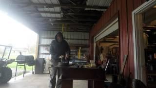 Rebuild the wheel hubs in my hand cart